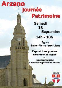 Journée du patrimoine @ Eglise Saint-Pierre-aux-Liens